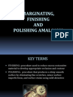 2012 Marginating, Finishing and Polishing Amalgams