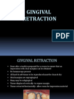 2012 Gingival Retraction