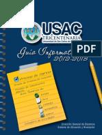 Guia Tematica 2012 USAC