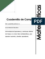 Cuadernillo Matematicas Vol 3 CTA 2006