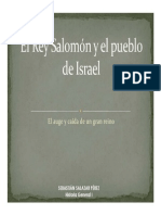 Unidad 1 El Rey Salomón y el pueblo de Israel - Sebastián Salazar Pérez