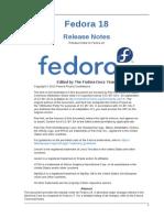 Fedora 18 Release Notes en US