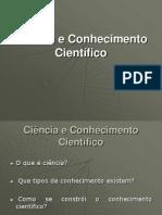 AZEVEDO, Alda – Ciência e Conhecimento Científico