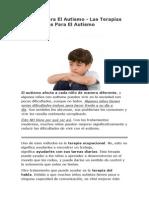 Las Terapias Más Eficaces Para El Autismo
