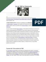 Golpe de Estado de 1945 en Venezuela