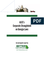 ALEC's Corporate Stranglehold on Georgia Laws