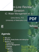 Irrigation Review Session