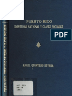 Puerto Rico Identidad Ncional y Clases Sociales