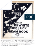 Black and White Good Luck Dream book
