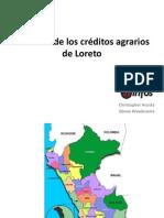 La estafa de los créditos agrarios de Loreto