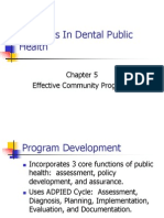 Concepts in Dental Public Health Ch 5