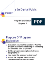 Concepts in Dental Public Health Ch 7