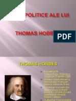 Ideile Politice Ale Lui Thomas Hobbes