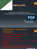 1.6 Etapas de Un Proyecto de Simulacion