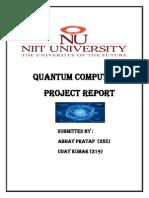 Project Description | Quantum Computing | Quantum Entanglement