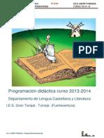 Programación LCL 2013-14- 3º ESO