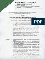 Pusat Kajian Terorisme Dan Konflik Sosial - Fakultas Psikologi Universitas Indonesia