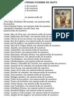 LETANÍAS DEL SANTÍSIMO NOMBRE DE JESÚS.doc