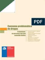 CONACE - (2008) Consumo problemático de drogas. Tratamiento de personas que han cometido delitos