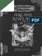 [D&D 3.5E ITA] Arcani Rivelati