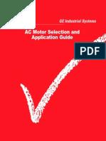 GE Motor Application Guide