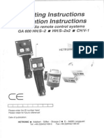 9 Operating Instructions HETRONIC Eng