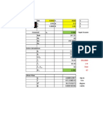 Diagonal Compression Theory Spreadsheet