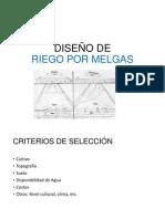 DISEÑO DE MELGAS