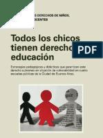 LibroTODOS LOS CHICOS TIENEN DERECHO A LA EDUCACIÓN