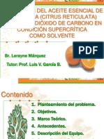 EXTRACCIËN DEL ACEITE ESENCIAL DE MANDARINA tesis 1