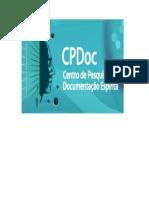 CPDoc - Centro de Pesquisa e Documentação Espírita (autores diversos)