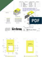 Router workshop table plans