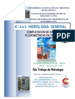 2do Trabajo Hidrologia