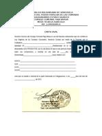 Aval y Carta de Residencia