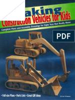 Making construction vehicles for kids