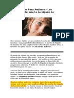 Tratamientos Para Autismo - Aceite de hígado de bacalao