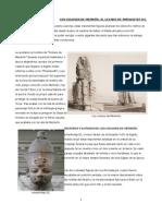 Los colosos de Memnón. El legado de Amenhotep III