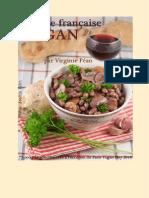 Cuisine Francaise Vegan by Virgine Paen