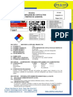 Msds Abro Electronic Contact Cleaner