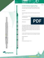Pumptools - CT Logging Plug