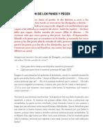 MULTIPLICACIÓN DE LOS PANES Y