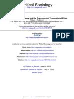 The Emergence of Transnational Elites (Robinson, W.)