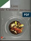 Cuisine - Alain Ducasse - Grand Livre de Cuisine Mediterranee