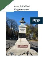 Bustul lui Mihail Kogălniceanu