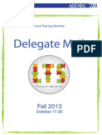 First Delegate Mail