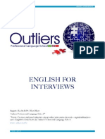 Apostila English for Interviews - Outliers (Download)