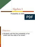 probability  odds 2