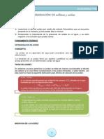 DETERMINACIÓN DE sulfatos y acidez