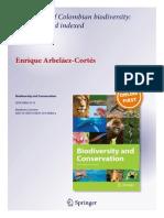Arbelaez-Cortes 2013 Biodiversity&Conservation