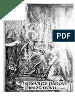 JKS Kancional Organ SK Slovensky 1986